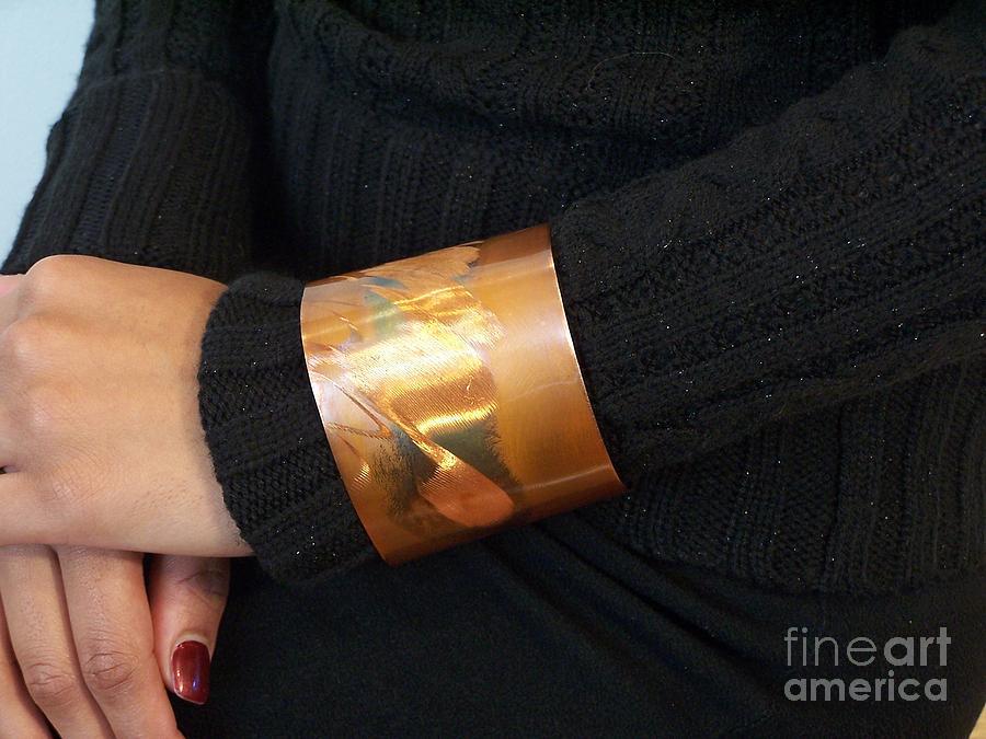 Copper Cuff Jewelry by Jeff Williams
