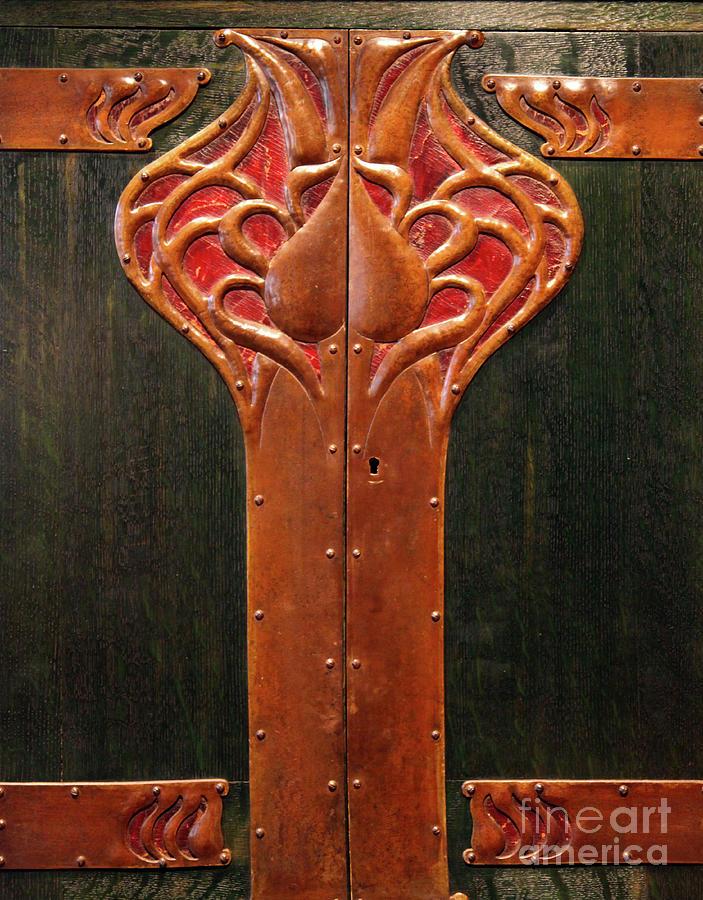 Copper Doors Photograph
