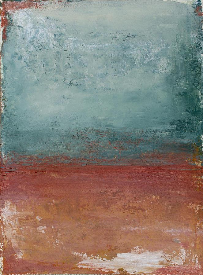 Copper Painting - Copper Field by Katrina Nixon