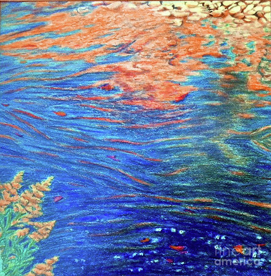 Copper Flow by Susan Sarabasha