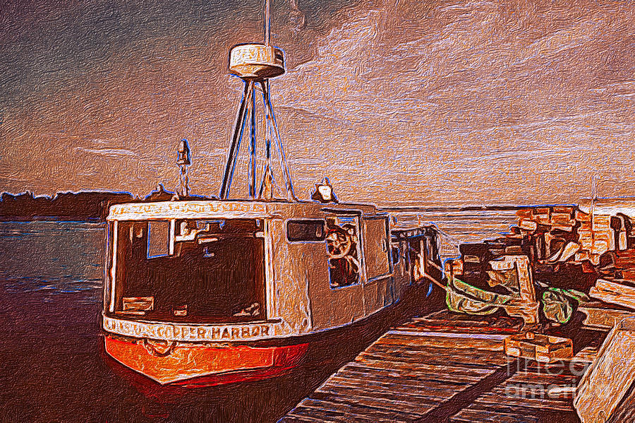 Copper Harbor Photograph - Copper Harbor Waterfront by JS Stewart