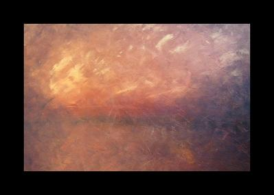 Copper Night Painting by Vanessa Grant