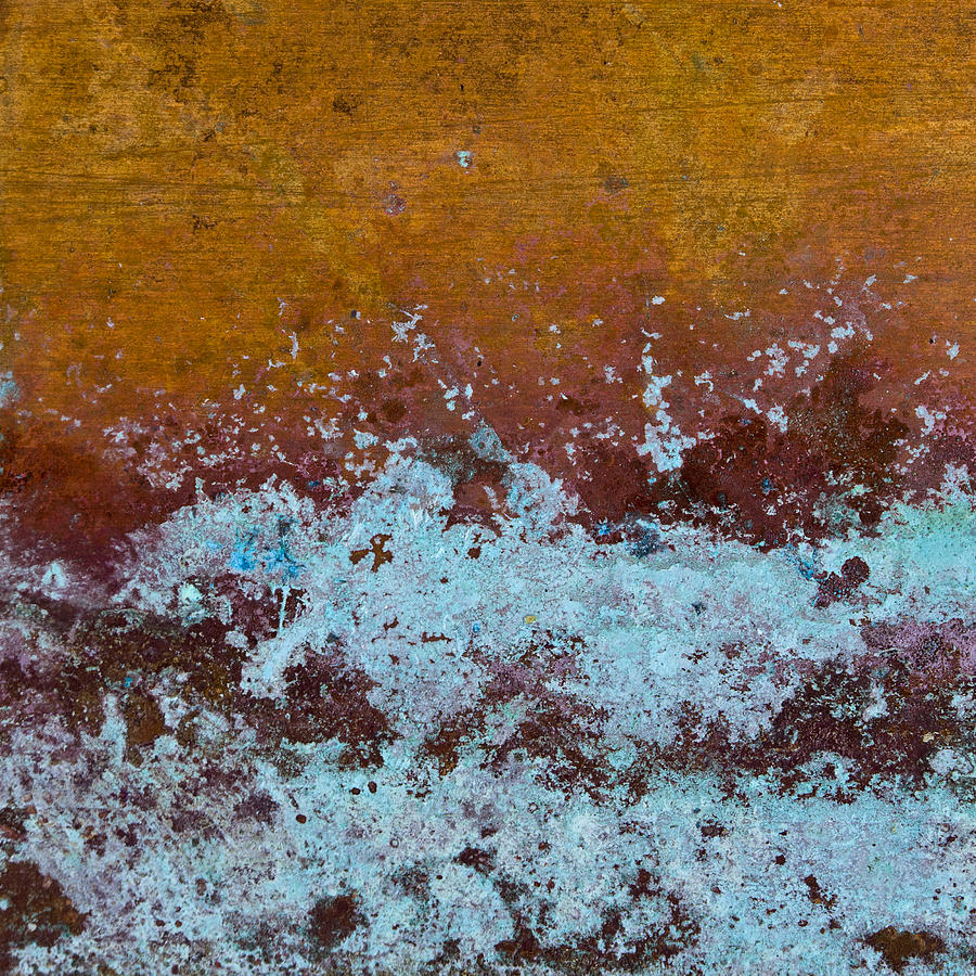 Copper Photograph - Copper Patina by Carol Leigh
