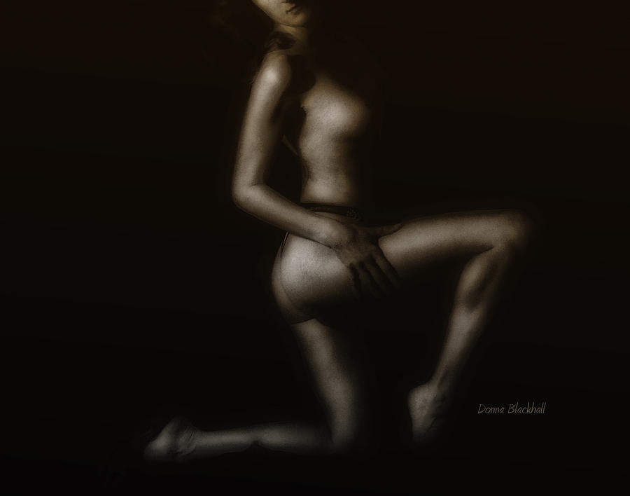 Nude Photograph - Coppertone by Donna Blackhall