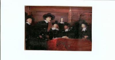 Copy Of Rembrandt Painting Painting by Gerald Wolfert