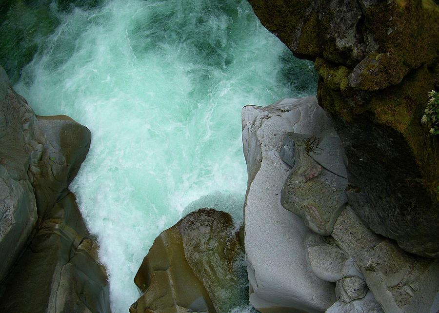 River Photograph - Coquihalla River BC II by Pam Ellis