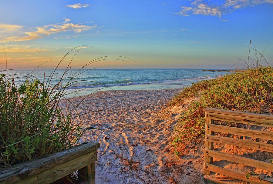 Coquina Beach Photograph - Coquina Beach By H H Photography Of Florida  by HH Photography of Florida