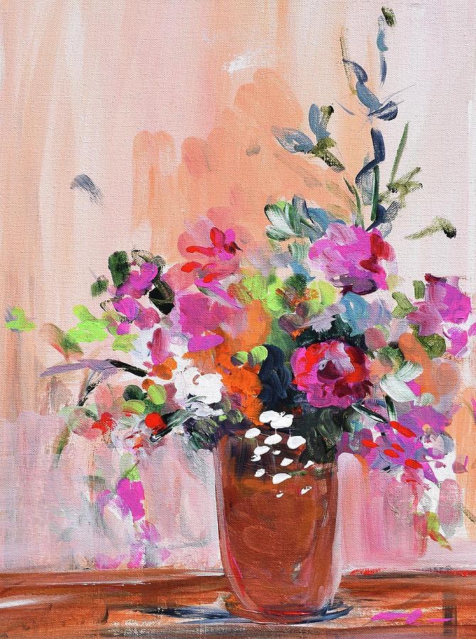 Coral Floral by Karen Ahuja