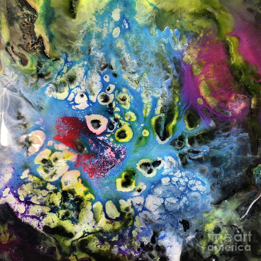 Coral Painting - Coral by Kusum Vij