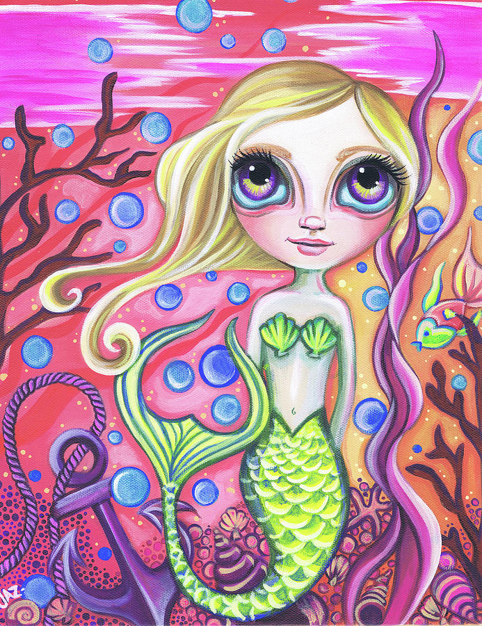 Coral Reef Mermaid by Jaz Higgins