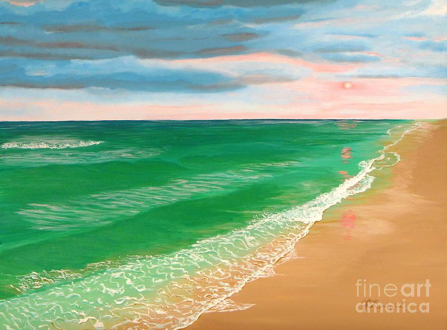 Coral Skies by Jenn C Lindquist