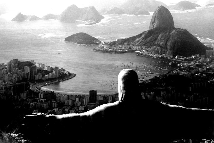 Corcovado Photograph - Corcovado - Rio De Janeiro - Brasil by Eduardo Costa
