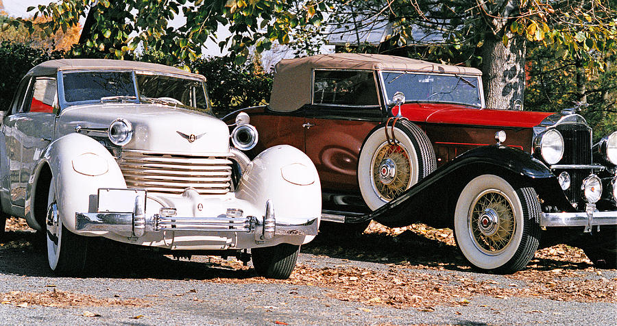 Cars Photograph - Cord Packard by Paul  Trunk