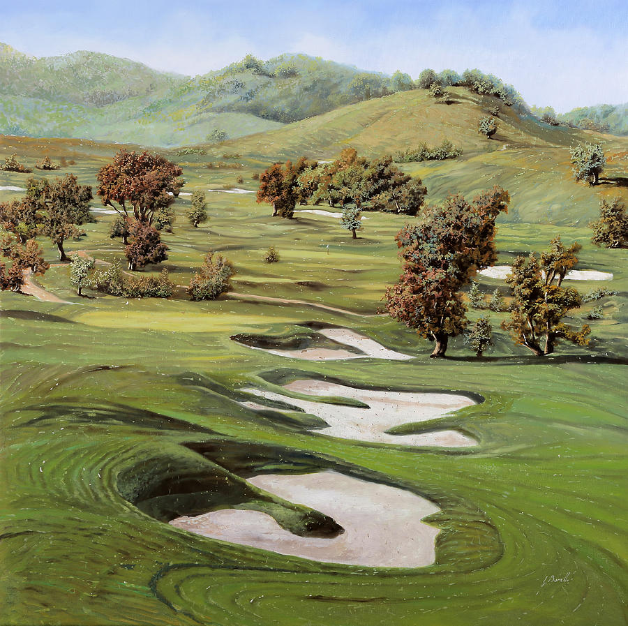 Cordevalle Golf Course Painting