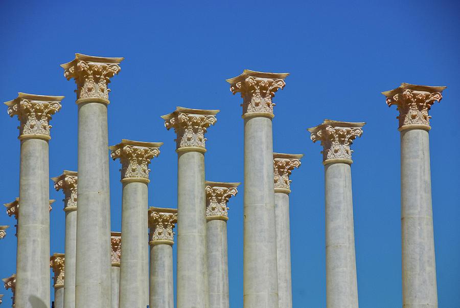 corinthian columns photograph corinthian columns by harry spitz