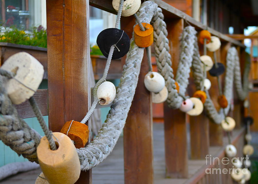 Rope Photograph - Corks by Rick  Monyahan