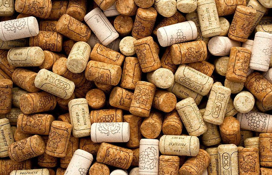 Tan Photograph - Corks by Rob Tullis