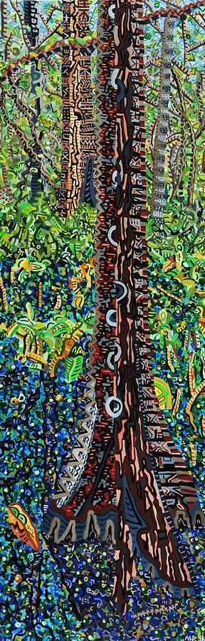 Corkscrew Swamp Sanctuary Painting - Corkscrew Swamp Sanctuary 2 by Micah Mullen