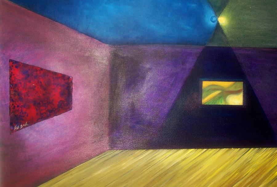 Abstract Painting - Corner Room  by Peter Sparks