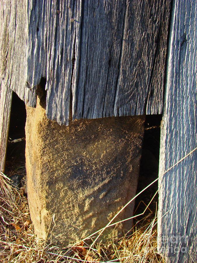 Corner Stone Photograph - Corner Stone by Sherry Vance