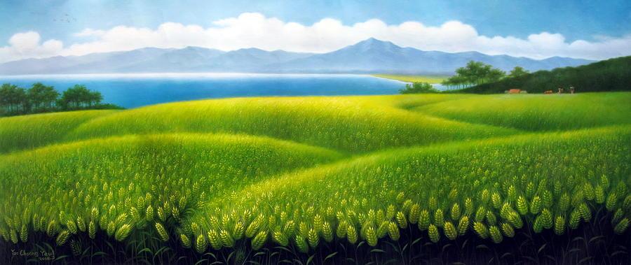Cornfield by Yoo Choong Yeul