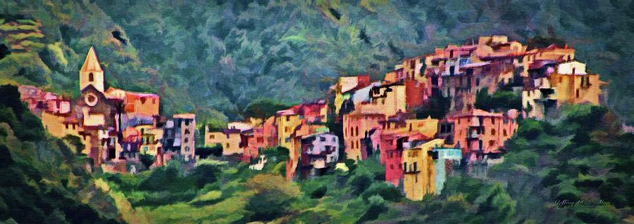 Corniglia by Jeffrey Kolker