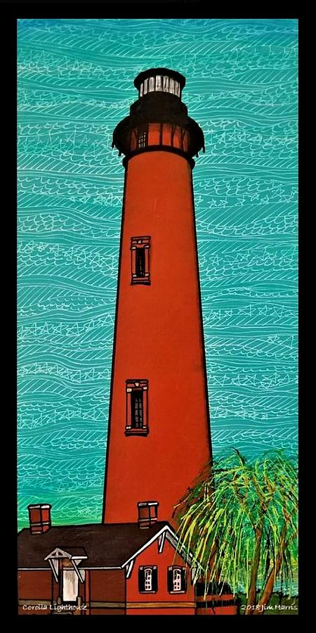 Corolla Lighthouse OBX by Jim Harris
