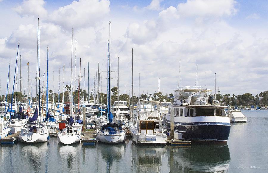 Coronado Photograph - Coronado Boats II by Margie Wildblood