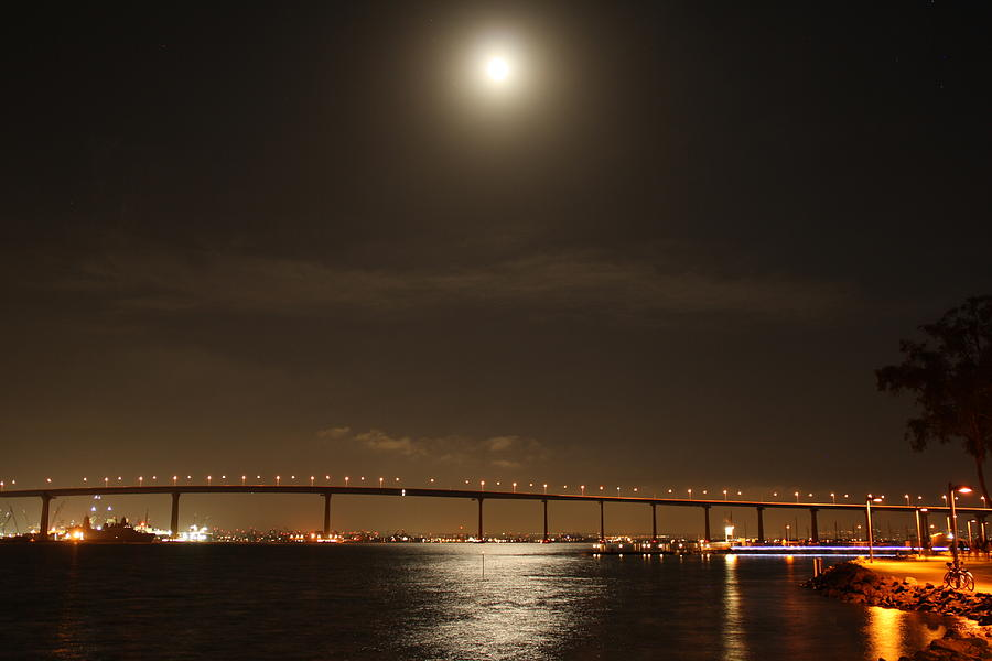 Coronado Bridge Photograph - Coronado Bridge by Christopher Woods
