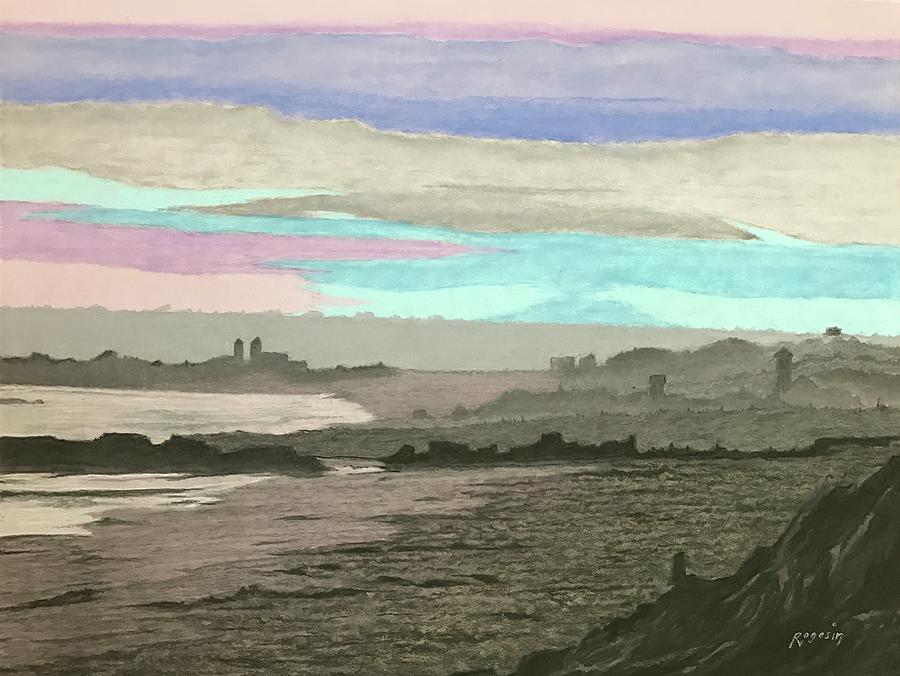 Seascape Painting - Coronado Kaleidoscope by Harvey Rogosin