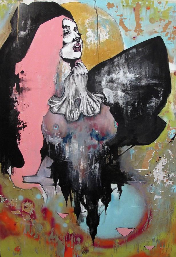 Castle Mixed Media - Correlation by Kaelin Ian Coooer