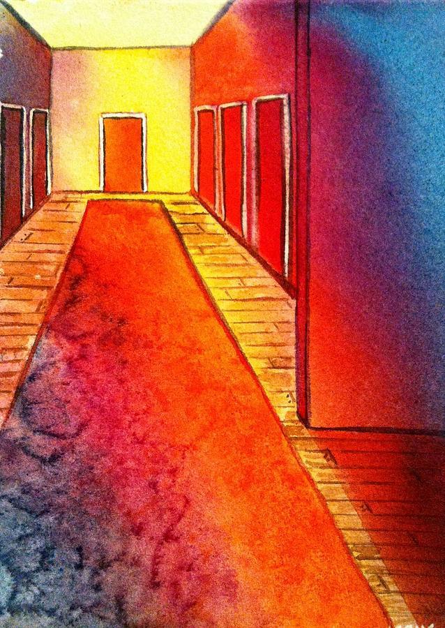 Corridor Painting - Corridor Of Dreams by Starr Weems