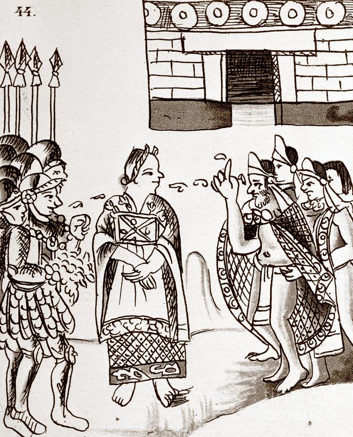 Cortes and Montezuma