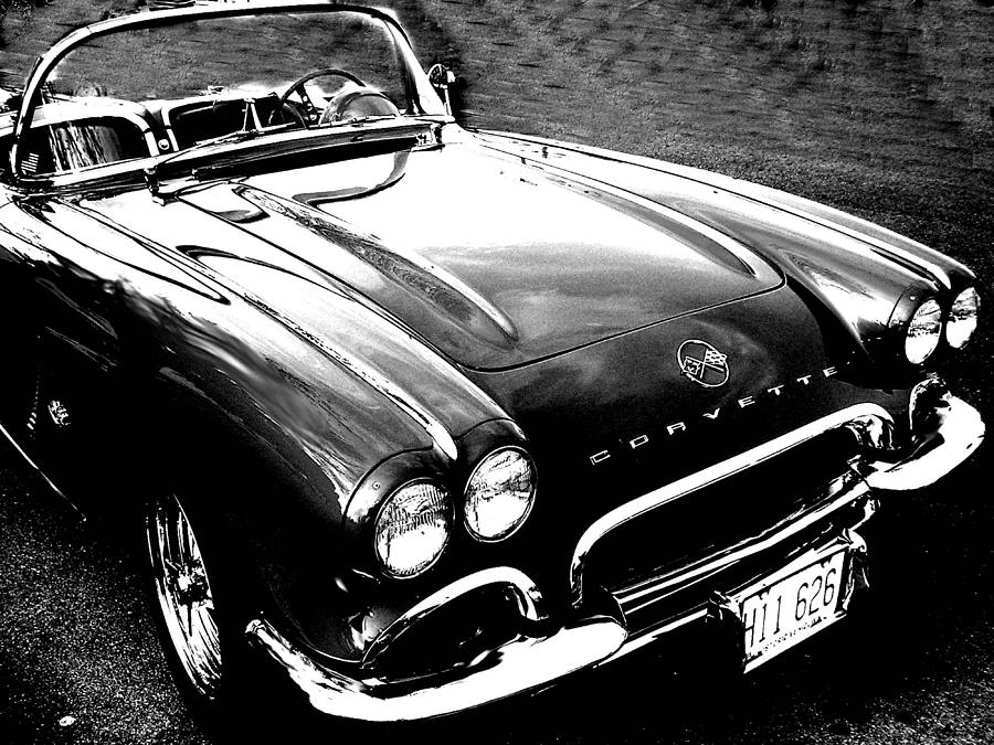 Car Photograph - Corvette by Audrey Venute