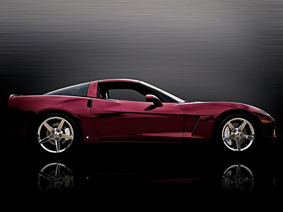 Corvette Digital Art - Corvette Reflections by Douglas Pittman