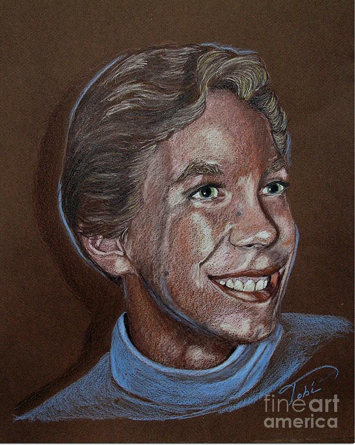 Portrait Painting - Cory Allen by Tobi Czumak