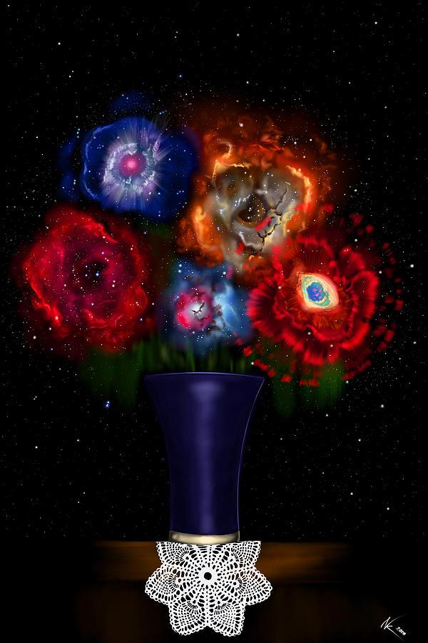 Cosmic Bouquet by Norman Klein