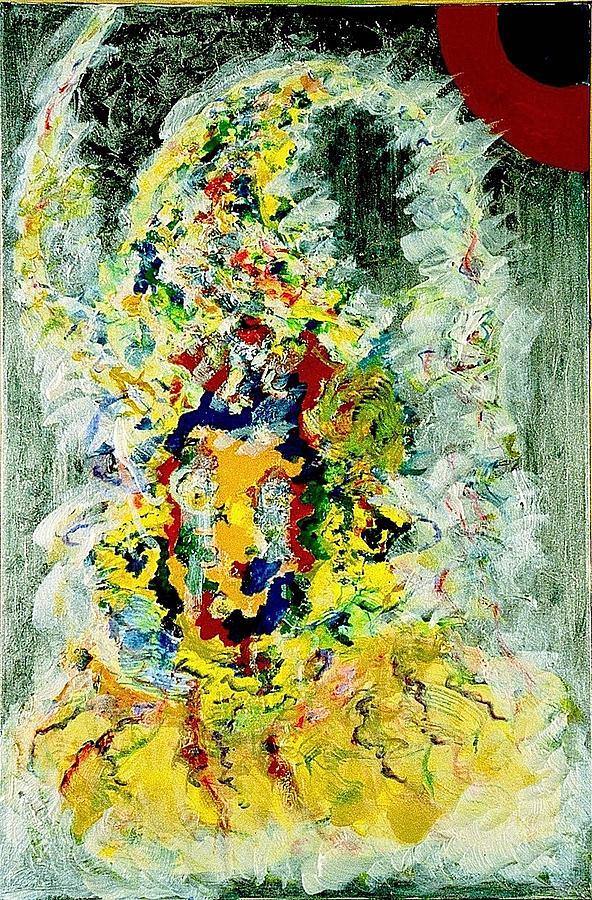 Painting Painting - Cosmic by Chitra Ramanathan