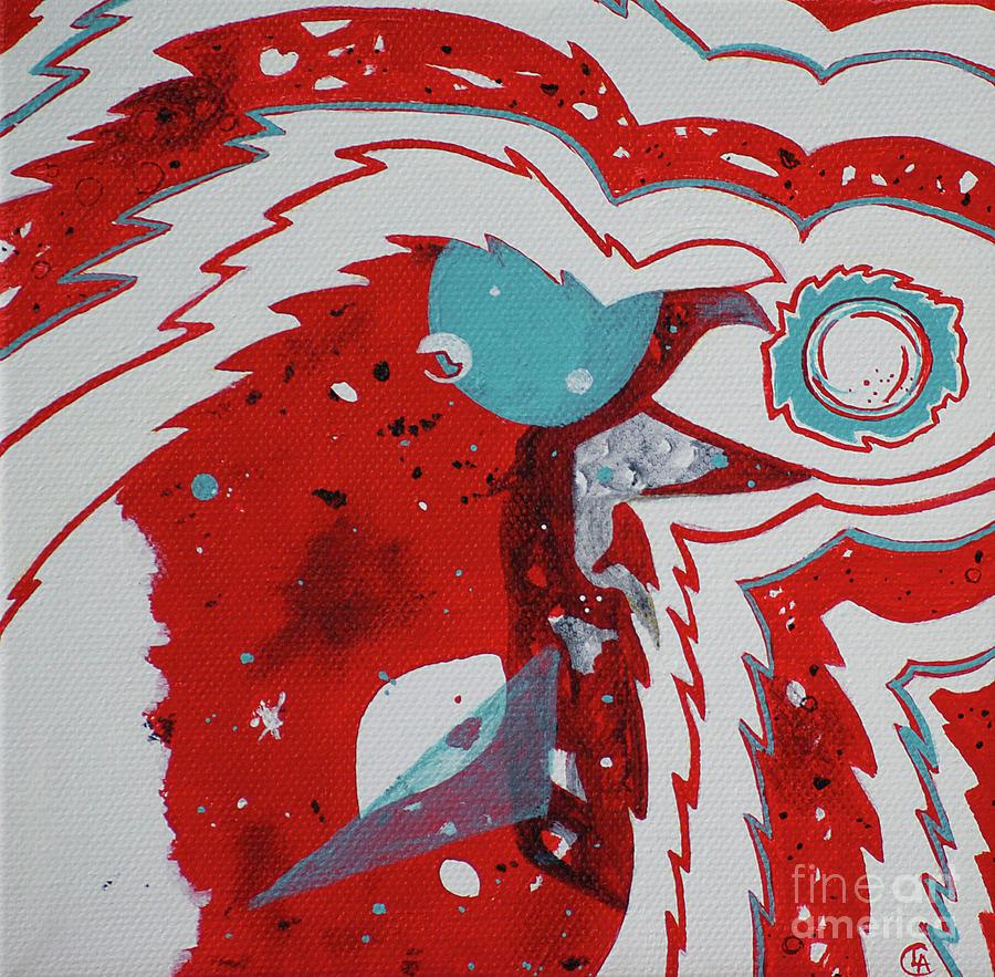 Cosmic Corvid by Cynthia Lagoudakis