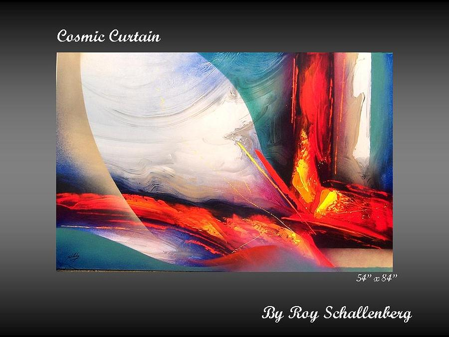 Painting Painting - Cosmic Curtain by Roy Schallenberg