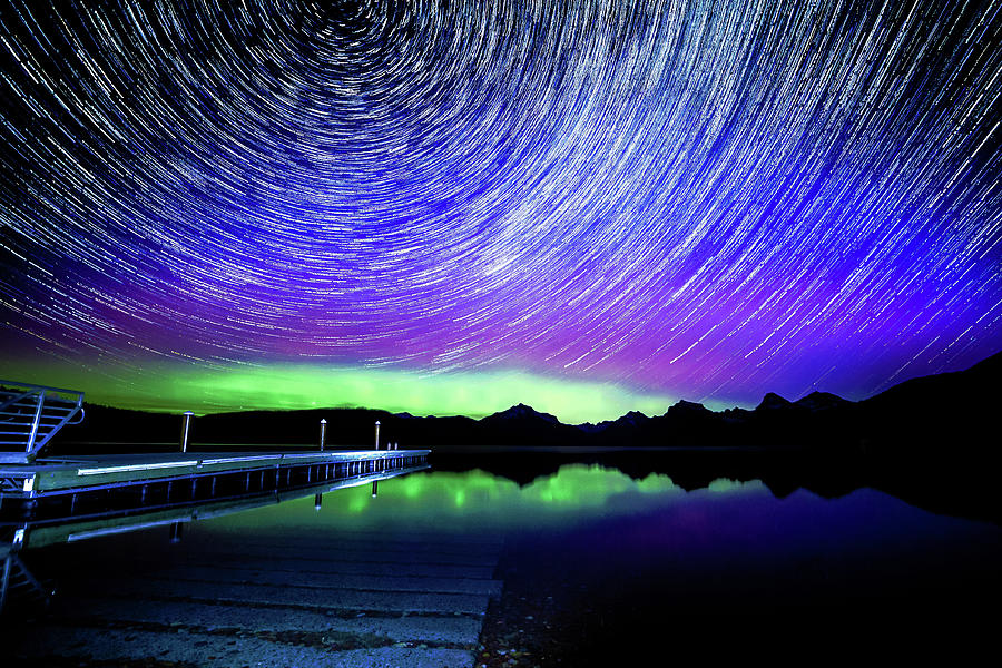 Cosmic Photograph - Cosmic-donald Solar Storm by Bryan Moore