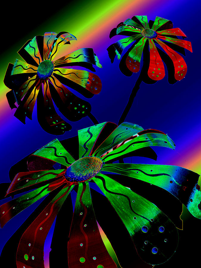 Flowers Digital Art - Cosmic Dreams by Tony Marquez
