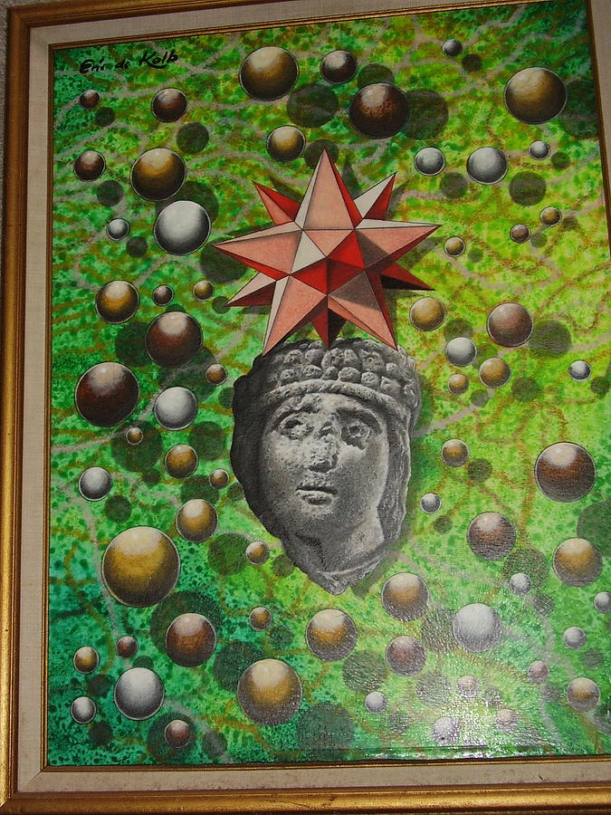 Gods Painting - Cosmic Glimpse by Eric de Kolb