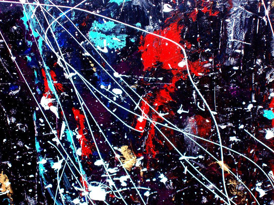 Cosmic Painting - Cosmic Journey by Wayne Potrafka