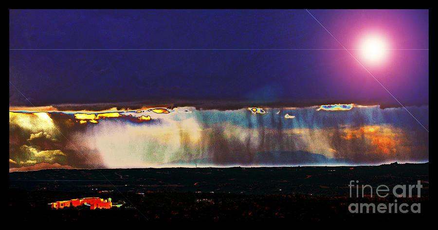 New World Photograph - Cosmic Relocation by Susanne Still