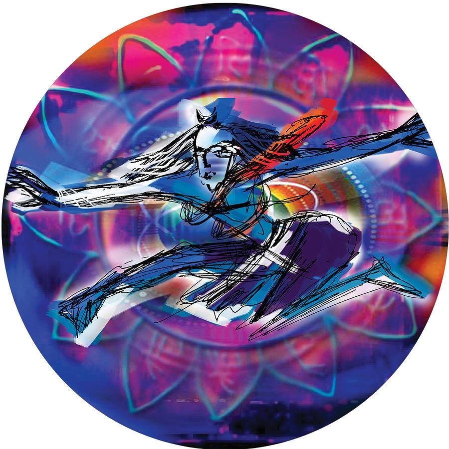 Cosmic Shiva Speed by Guruji Aruneshvar Paris Art Curator Katrin Suter