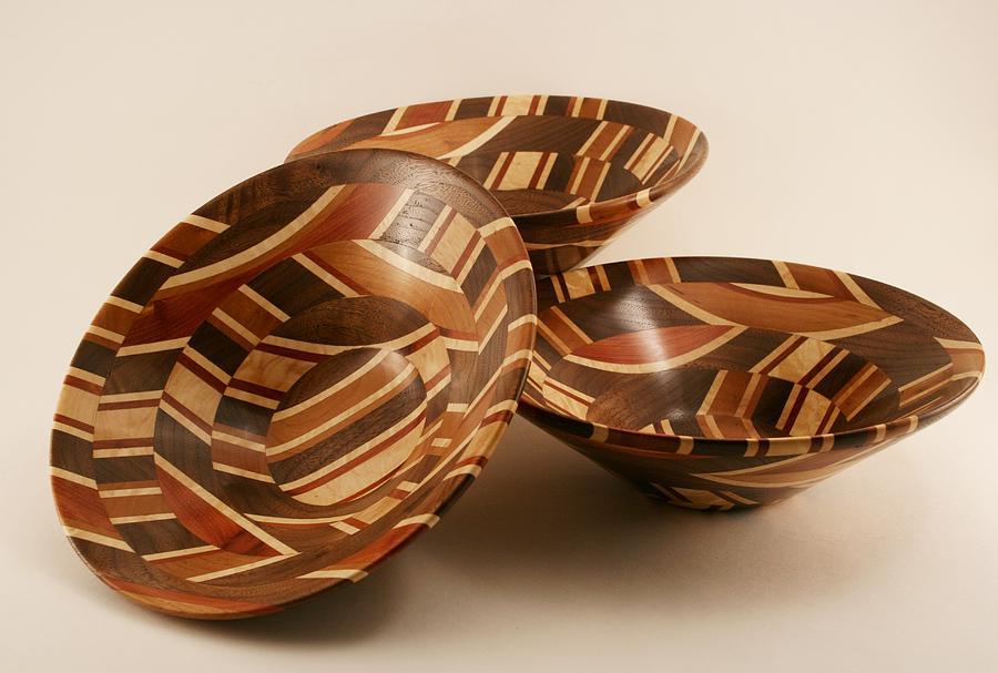 Cosmo Bowls Sculpture by Joseph Barnes