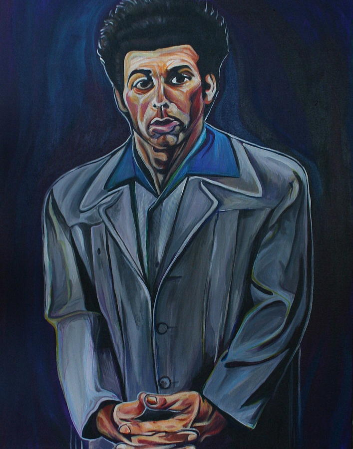 Michael Richards Painting - Cosmo by Kate Fortin