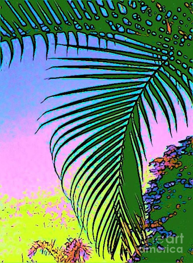 Costa Rica Photograph - Costa Rica Palm by Lisa Dunn