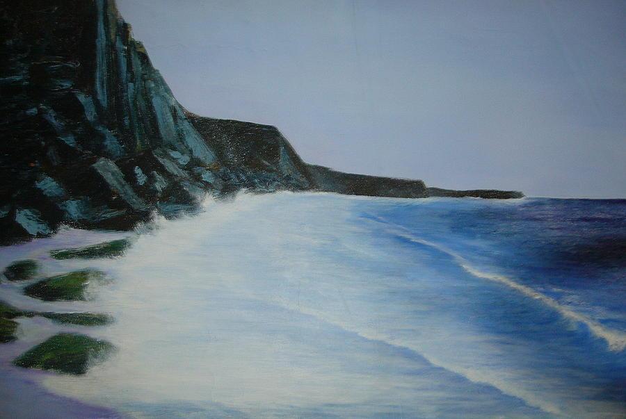 See Painting - Costa Vicentina by Elsa ribeiro Aljezur